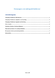 Andengradsfunktioner   Emneopgave i matematik