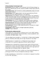 Retnemt – Synopsis   Erhvervscase