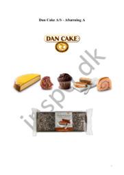 Dan Cake A/S – Afsætning A | 12 i karakter