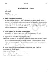 Idræt B | Prøveeksamen | Øvelsesplan idræt B | Floorball