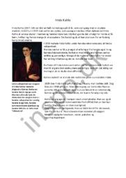 Frida Kahlo | Biografi | Billedkunst