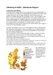 Udledning af stoffer | Bioteknologi rapport