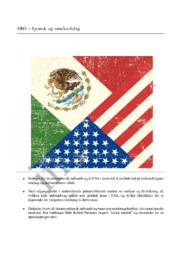 SRO | Spansk og samfundsfag | Indvandring i USA