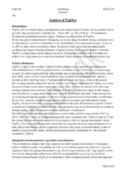 TopToy A/S   Analyse   Afsætning
