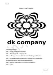 DK Company | Afsætning