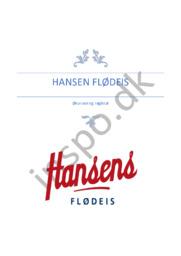 Hansen flødeis | Økonomi og nøgletal | Afsætning