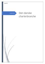 Den Danske Charterbranche | Afsætning