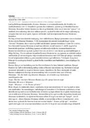 Ludvig Holbergs dramakomedie Erasmus Montanus   Analyse
