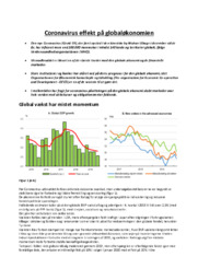 Coronavirus effekt på globaløkonomien | Samfundsfag