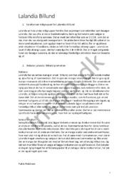 Lalandia Billund | Afsætning | Karakteristik & diskussion