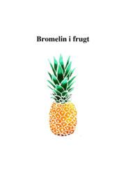 Bromelin i frugt | Biologi