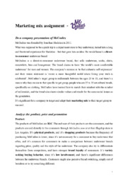 MeUndies   Marketing mix assignment