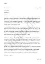 Briefe aus DDR | Tysk Opgave