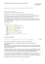 Opsætning og styling af en kontaktformular i HTML og CSS