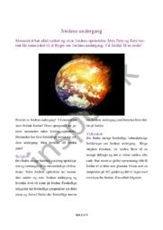 Kronik   Apokalypsen   Jordens undergang