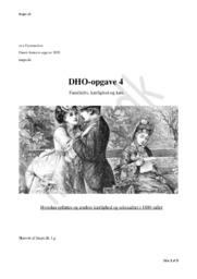 Familieliv, kærlighed og køn | DHO