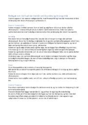 Redegør kort for hvad der forstås ved finanslov og finanspolitik