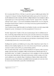 Analyse af Spøgelsesbilist   Charlotte Weitze