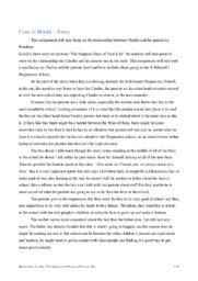 Class in Britain – Essay