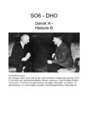 Tyske besættelse af Danmark   DHO
