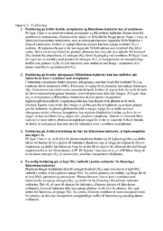 N2-fiksering & Rhizobium-bakterier   Biologi rapport