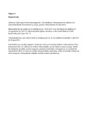 Audiomas, Jøling, HighDry & Sinus A/S   VØ opgave