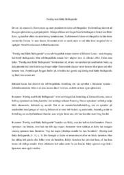 Færdig med Eddy Bellegueule | Analyse
