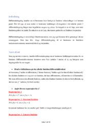 Differentialregning | Matematik