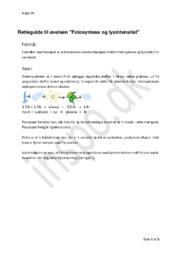 Fotosyntese og lysintensitet   Biologi Rapport
