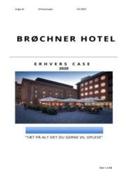 Brøchner Hotel | 2020 | Opgave