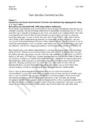 Den Danske Charterbranche   Opgave   Afsætning   2020