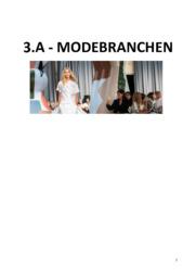 Modebranchen | Afsætning