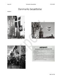 Danmarks Besættelse | DHO