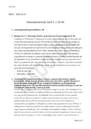 Danmarkshistorie bind 2   s. 62-66   Historie Noter