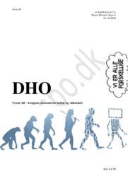 Nyeste tid – kroppen, senmoderne kultur og videnskab   DHO