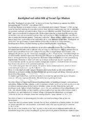 Kærlighed ved sidste blik | Analyse | Svend Åge Madsen