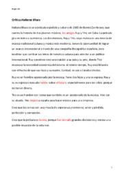Habana Blues | Crítica | Anmeldelse