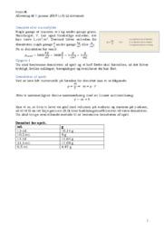 Densitet eller Massefylde | Fysik Rapport