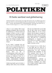 Et bedre samfund med globalisering   Debatindlæg