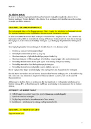 At Skrive Notat | Samfundsfag noter