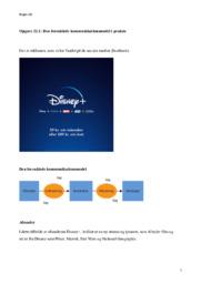 Den Forenklede Kommunikationsmodel | Disney+ | Opgave