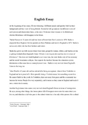 3 different people | English Essay