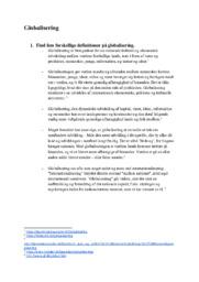 Globalisering | Samfundsfag