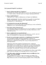 Ansættelsesret | Kapitel 8 | Erhvervsret Spørgsmål