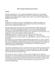 Afleveringsvejledning til Landolt | Kemi