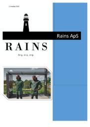 Rains ApS   Afsætning