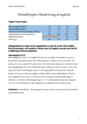 Thistedbryghus Omskrivning af nøgletal | Virksomhedsøkonomi opgave
