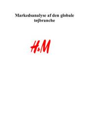 Markedsanalyse af den globale tøjbranche