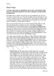 Black Friday | Analyse | Afsætning