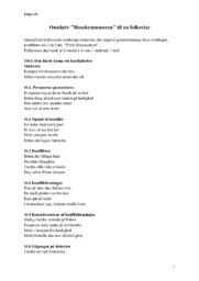 """Omskriv """"Hosekræmmeren"""" til en folkevise   Dansk aflevering"""